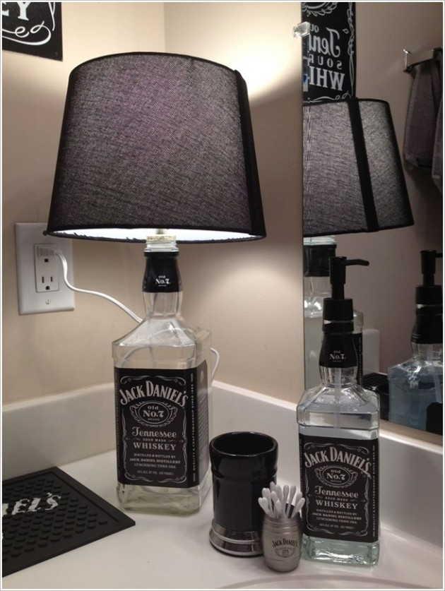 Abajur garraja Jack Daniel's