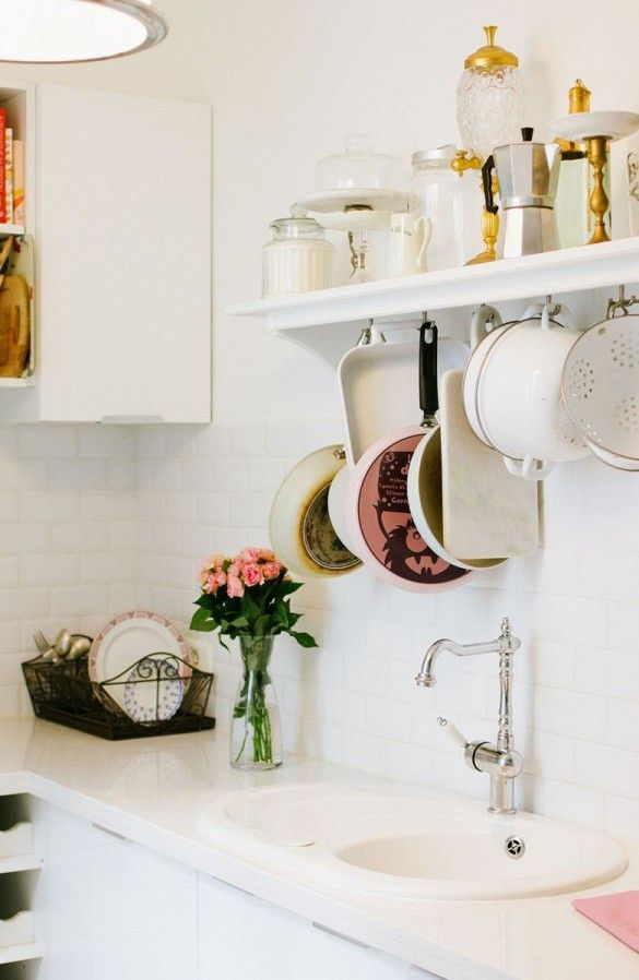 Cozinha romântica