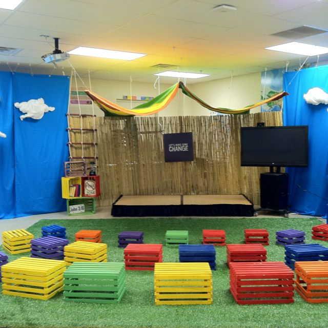 Decora o de sala de aula infantil 10 id ias incr veis - Painting nursery ceiling ideas tips ...