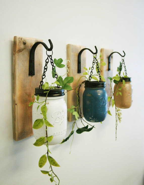 Vazos suspensos de plantas