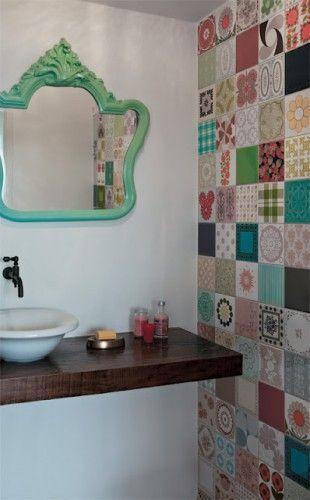 adesivos para parede de banheiro