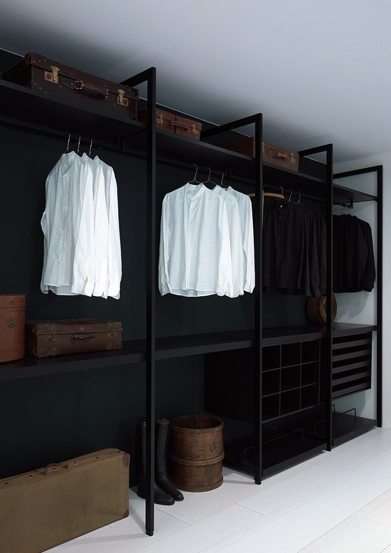 closet preto