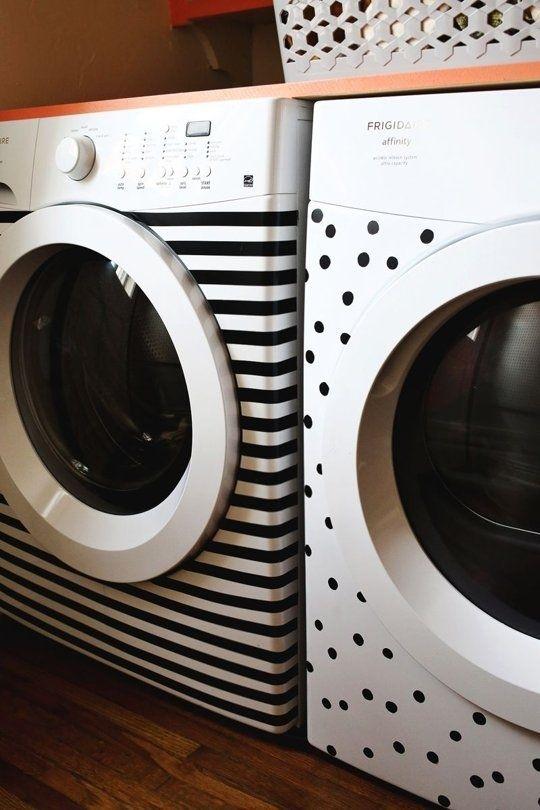 maquinha de lavar com adesivo