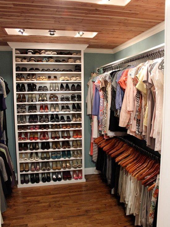 sapatos closet