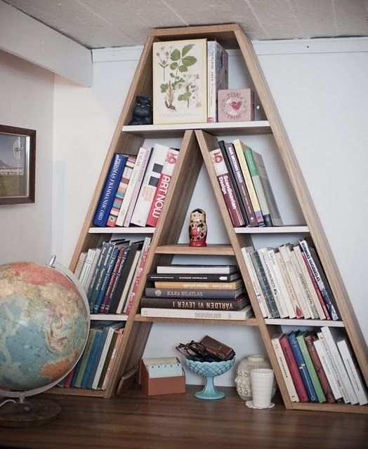 Cantinho da leitura 50 modelos com fotos e v deos for Libreros originales