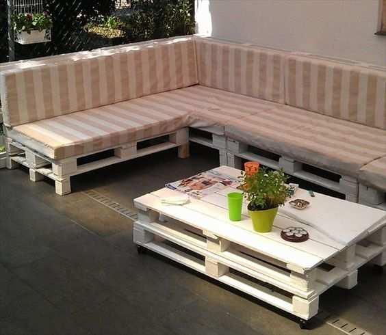 Extremamente Sofá de Pallet - Como Fazer, Como Fazer as Almofadas Com 140 FOTOS LE76
