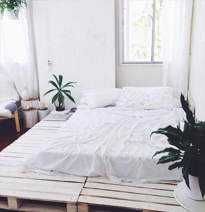 Base grande para cama de pallete
