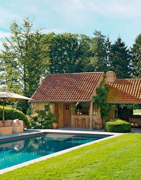 Casas lindas conhe a 65 casas incr veis e se inspire for Modelos de piscinas campestres