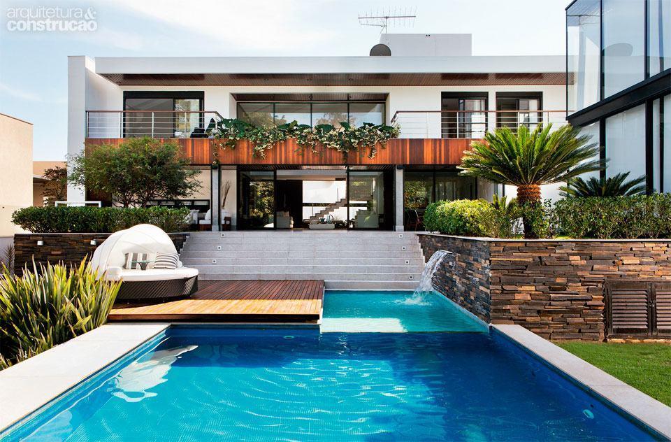 Casas lindas conhe a 65 casas incr veis e se inspire for Piscinas lindas