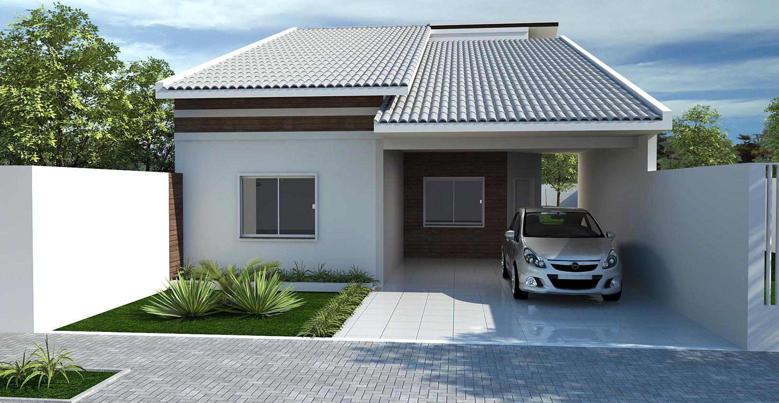 Casas lindas e baratas