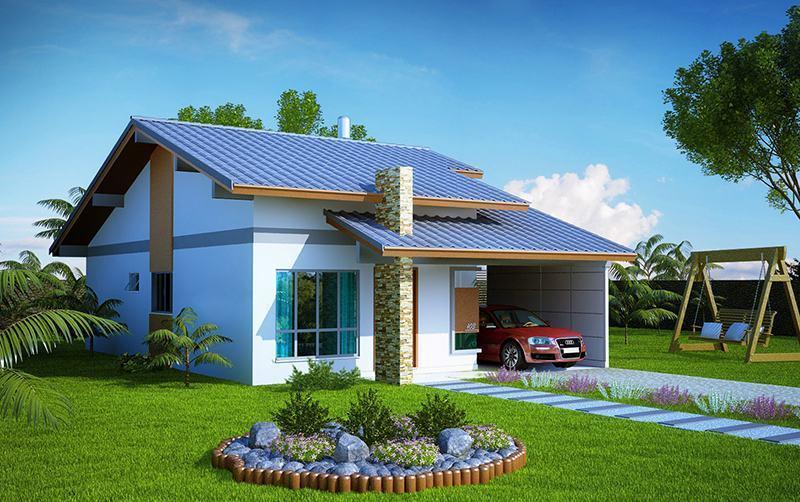 Casas lindas pequenas