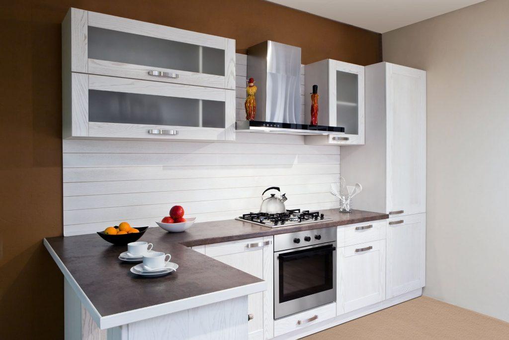 Cozinha simples americana