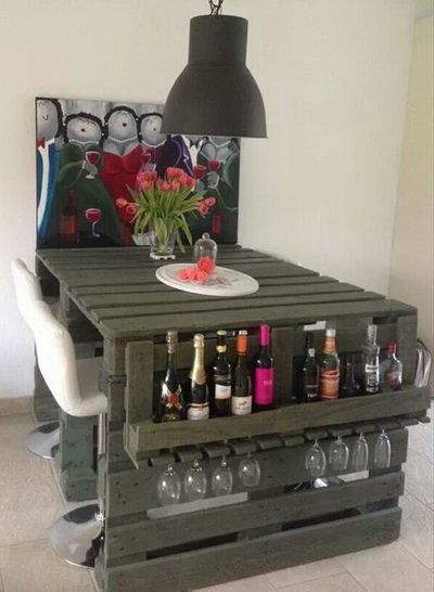 Uma mesa sofisticada