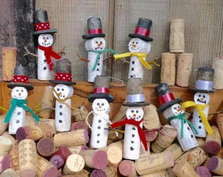 bonequinhos de neve
