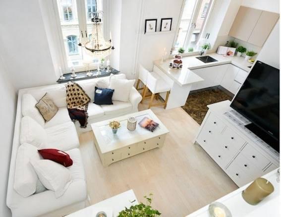 casa decoração em branco