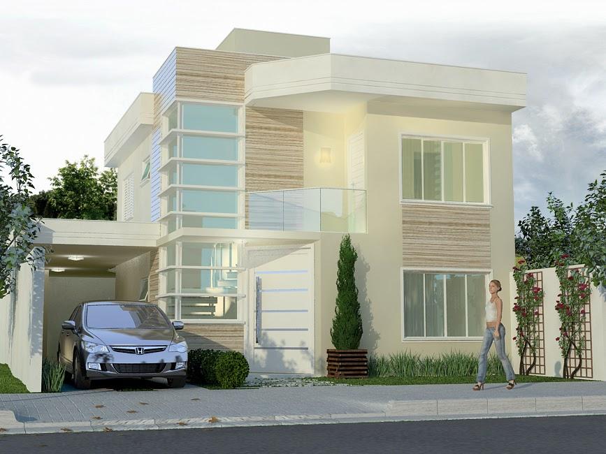 casas lindas de dois andares