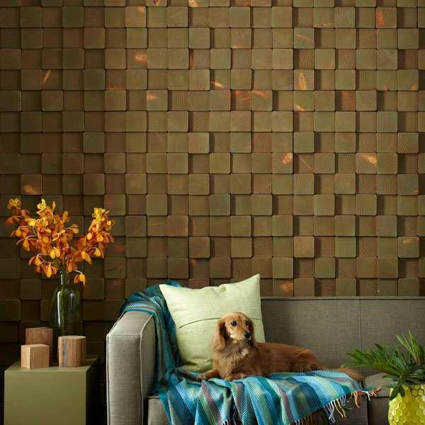 Arte em madeira para parede