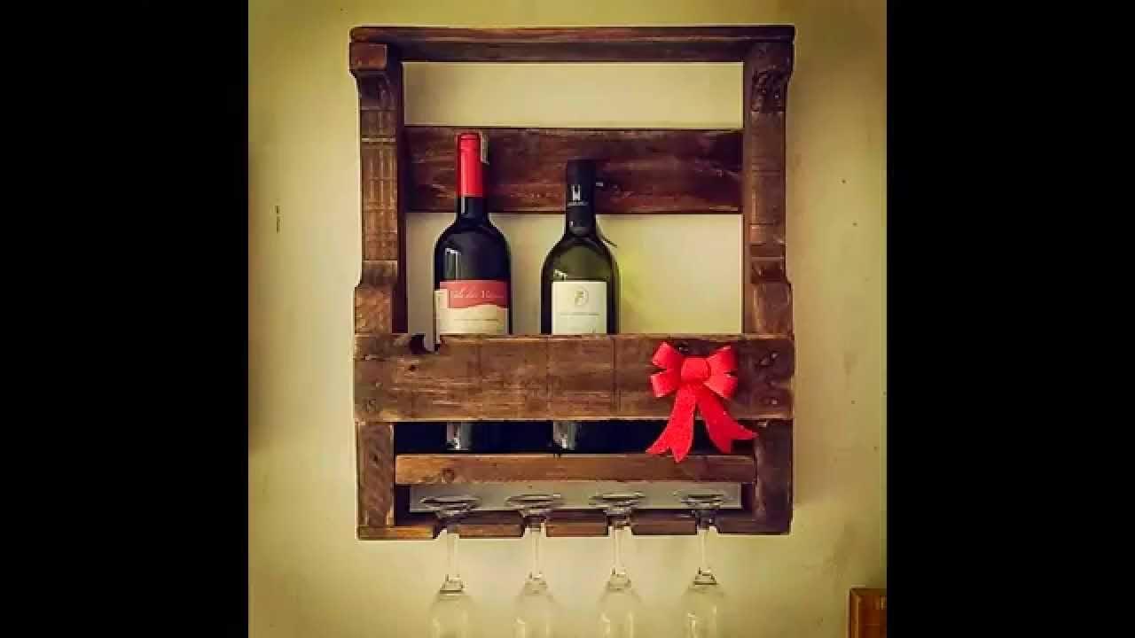 Bar De Pallet Adega De Vinho E Outras Ideias Para Seu Barzinho -> Adega Na Sala De Estar
