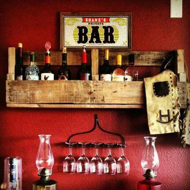Bar suspenso de pallet