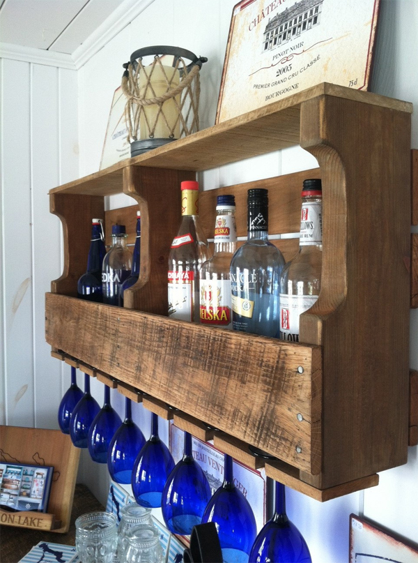 Mini bar de pallets
