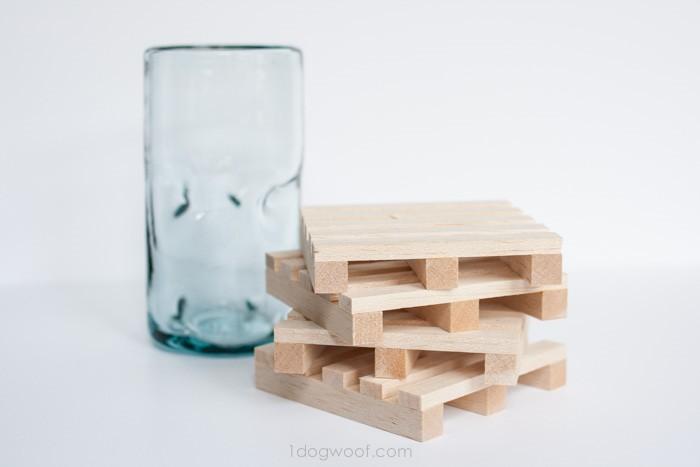 apoio para copos de pallet