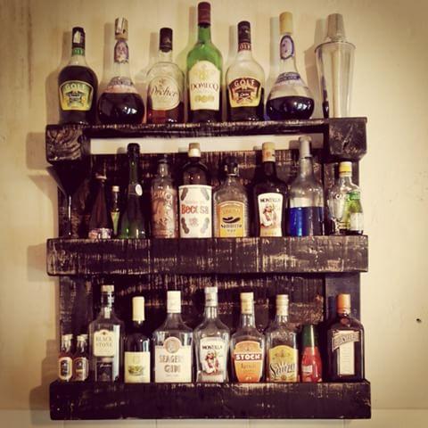 bar suspenso para sala