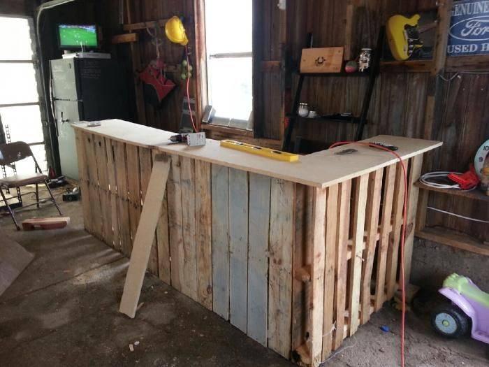 Bar de pallet adega de vinho e outras ideias para seu for Quanto costruire un piccolo garage