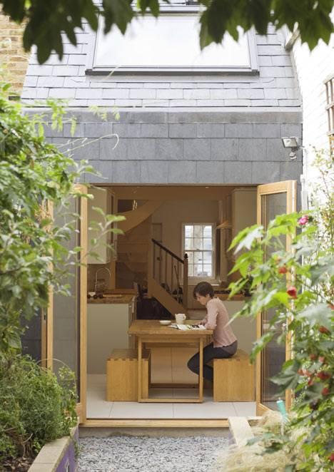 jardim de apartamento pequeno