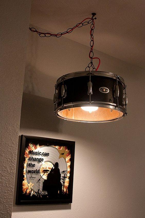 luminária de bateria