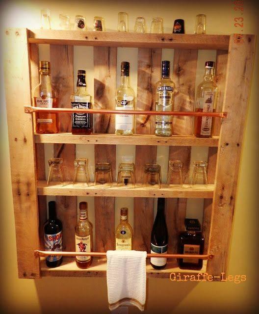 Bar De Pallet Adega Vinho E Outras Ideias Para Seu