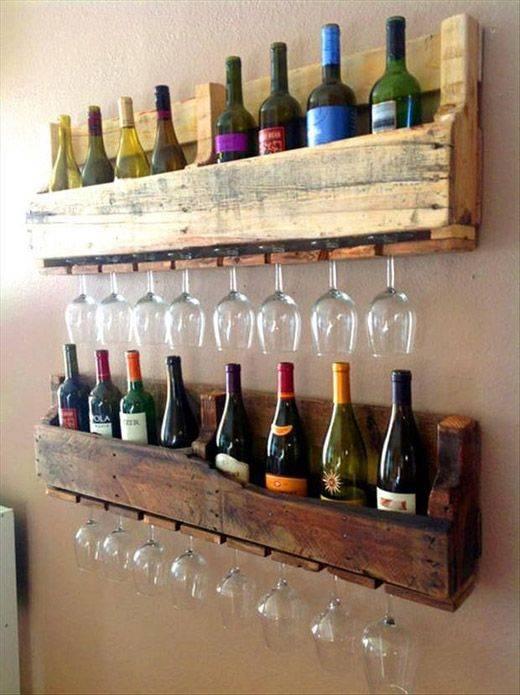 Bar De Pallet Adega De Vinho E Outras Ideias Para Seu Barzinho