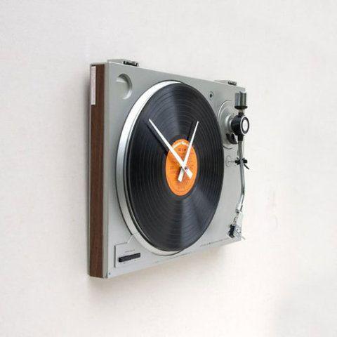toca discos de relógio