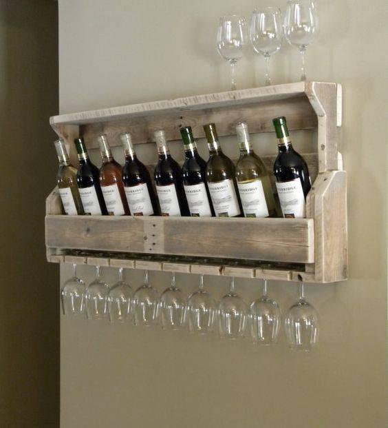 Bar de pallet adega de vinho e outras ideias para seu - Porta vino ikea ...