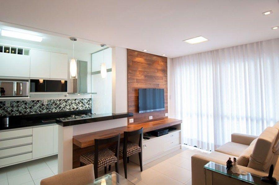 Apartamentos decorados de 45m2