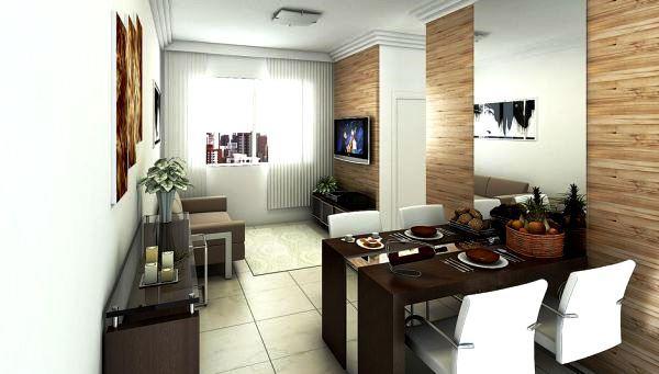 apartamentos decorados e planejados