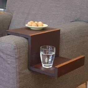 Apoio lateral de sof 10 para voc fazer em casa - Mesas para el sofa ...