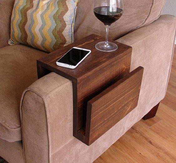 apoio de sofa para copo