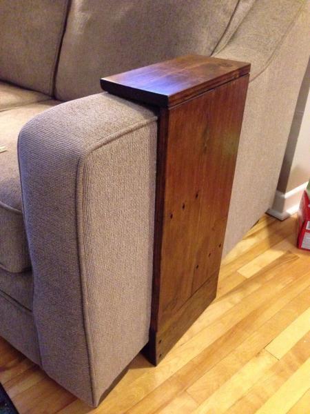 apoio para braço de sofa