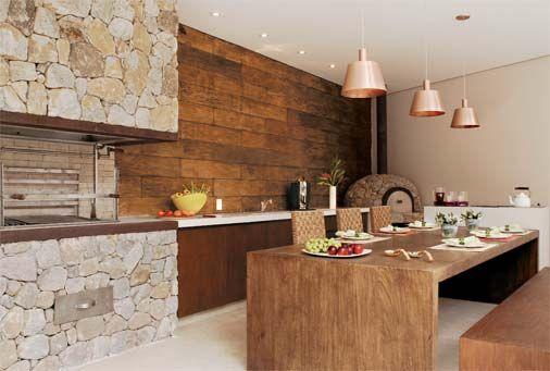 area para fazer churrasco super moderna
