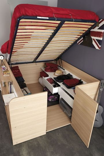 cama guarda roupa