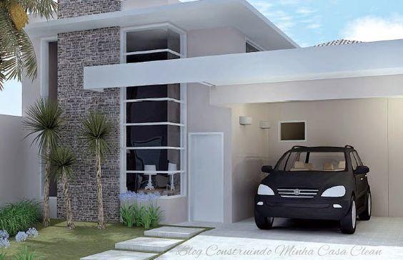 Casas pequenas conhe a fachadas projetos dicas e decora o for Modelos de patios de casas pequenas
