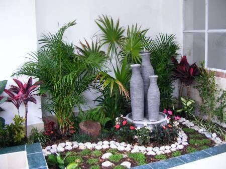 jardim no quintal