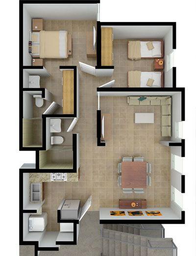 planta casa pequena 4