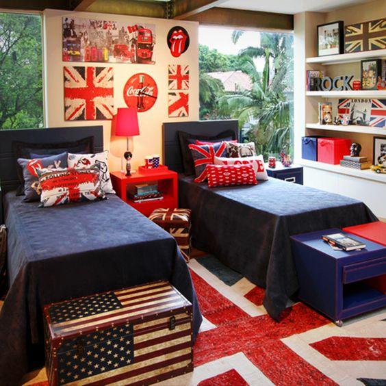 quarto infantil estilo americano