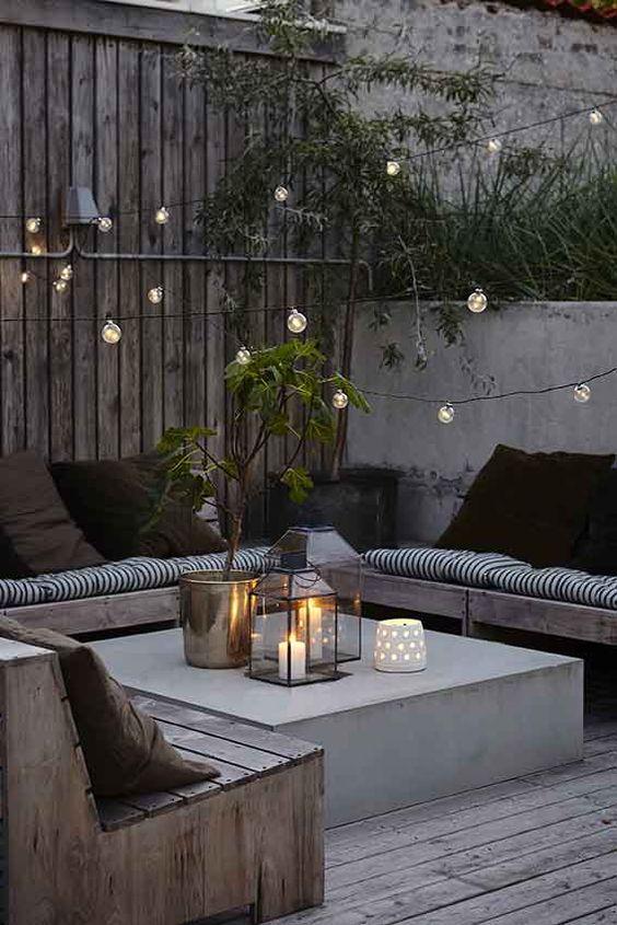 sofá de quintal