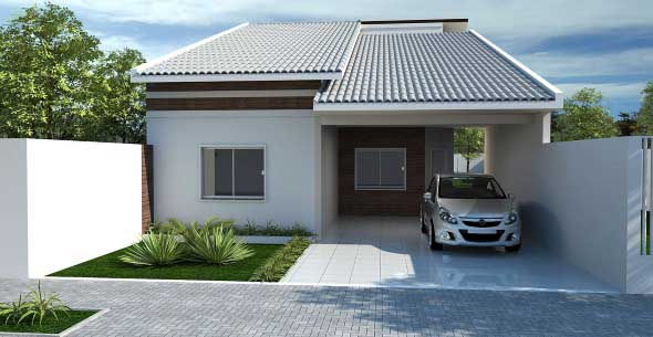 Casas bonitas pequenas
