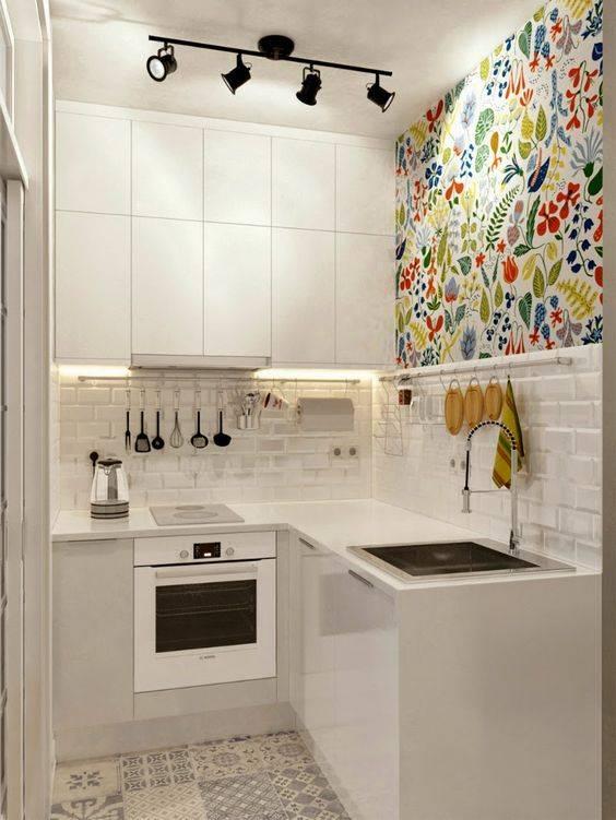 Cozinha em ambiente pequeno