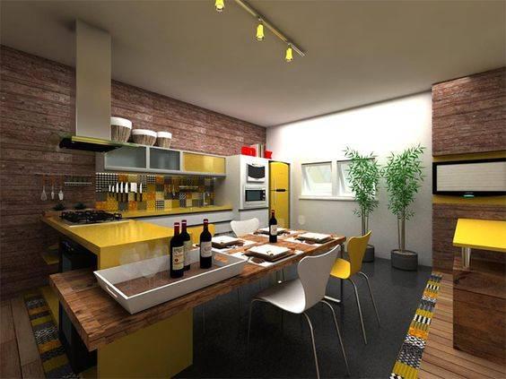 Cozinhacom janela grande