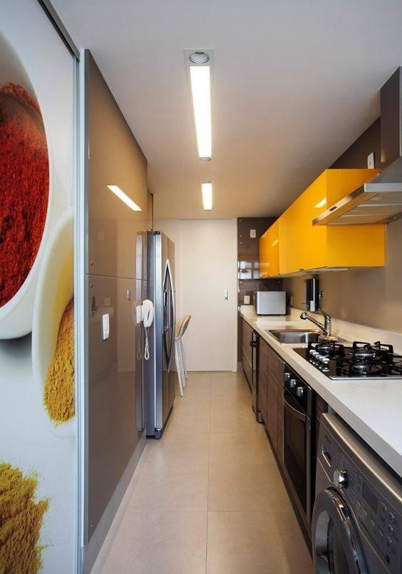 armário de cozinha amrelo