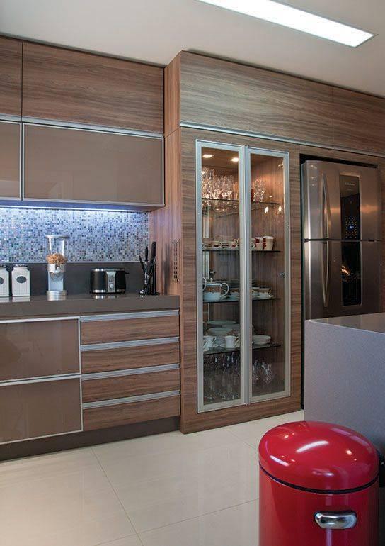 Aparador Mdf Cru ~ Cozinha Planejada 207 modelos com dicas e projetos 2017